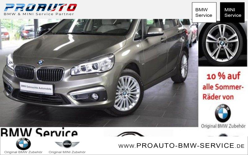 bmw 218i active tourer aut luxury line led navi pdc. Black Bedroom Furniture Sets. Home Design Ideas