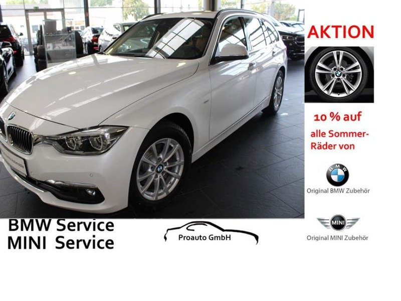 bmw 320d touring aut luxury line navi ahk panoramadach. Black Bedroom Furniture Sets. Home Design Ideas